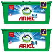 Pack Ariel Pods 3-in-1 alpin 1+ 1 gratis