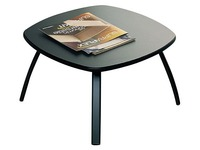 Low table Aloha black legs