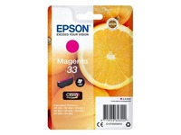 Epson 33 - magenta - original - ink cartridge