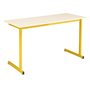 Table biplace School Color