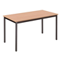 Classic rectangular multiform table beech