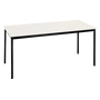 Multi-use eco table 180 x 80 cm bright grey